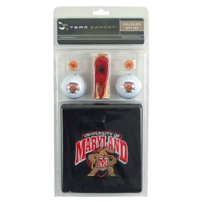 Maryland Terrapins Golf Gift Set