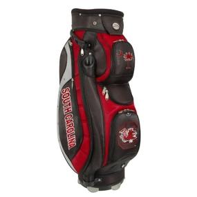 South Carolina Gamecocks Letterman's Club II Cooler Cart Golf Bag