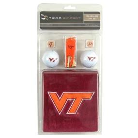 Virginia Tech Hokies Golf Gift Set