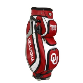 Oklahoma Sooners Letterman's Club II Cooler Cart Golf Bag