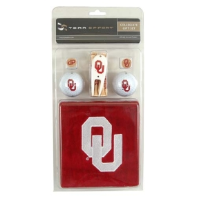 Oklahoma Sooners Golf Gift Set