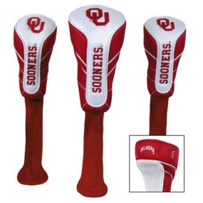 Oklahoma Sooners Nylon Golf Headcovers