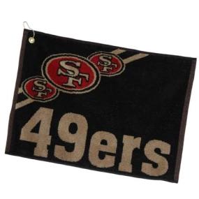 San Francisco 49ers Jacquard Golf Towel
