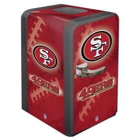 San Francisco 49ers Portable Party Refrigerator