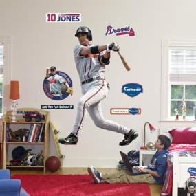 Chipper Jones Fathead