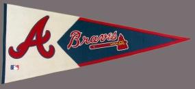 Atlanta Braves Vintage Classic Pennant