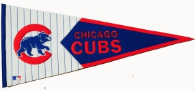 Chicago Cubs Vintage Classic Pennant