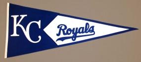 Kansas City Royals Vintage Classic Pennant