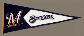 Milwaukee Brewers Vintage Classic Pennant