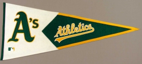 Oakland A's Vintage Classic Pennant