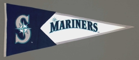 Seattle Mariners Vintage Classic Pennant