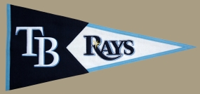 Tampa Bay Rays Vintage Classic Pennant