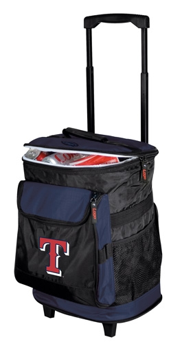 Texas Rangers Rolling Cooler