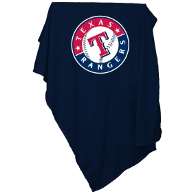 Texas Rangers Sweatshirt Blanket