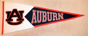Auburn Tigers Classic Pennant