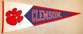 Clemson Tigers Classic Pennant