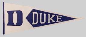 Duke Blue Devils Classic Pennant