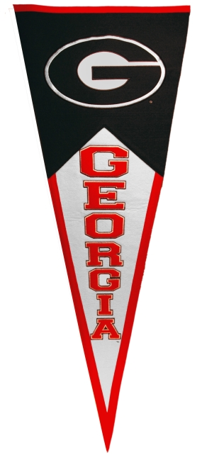 Georgia Bulldogs Classic Pennant