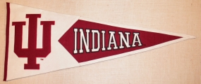 Indiana Hoosiers Classic Pennant