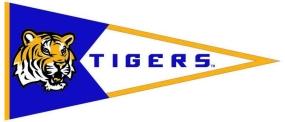 LSU Tigers Classic Pennant