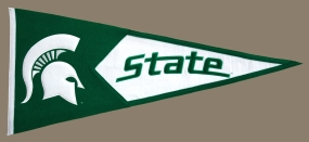 Michigan State Spartans Classic Pennant
