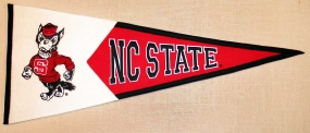 N.C. State Wolfpack Classic Pennant
