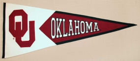 Oklahoma Sooners Classic Pennant
