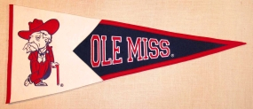 Mississippi Rebels Classic Pennant