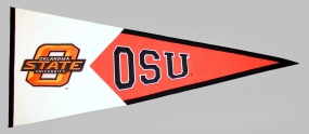 Oklahoma State Cowboys Classic Pennant