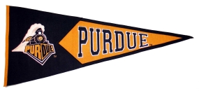 Purdue Boilermakers Classic Pennant