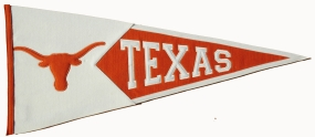 Texas Longhorns Classic Pennant