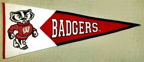 Wisconsin Badgers Classic Pennant
