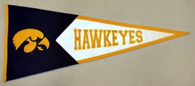 Iowa Hawkeyes Classic Pennant