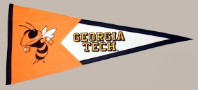 Georgia Tech Yellow Jackets Classic Pennant