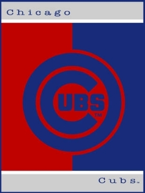 Chicago Cubs All Star Fleece Blanket/Throw