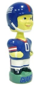 New York Giants Throwback Bobble Head