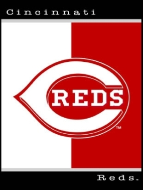 Cincinnati Reds All Star Fleece Blanket/Throw