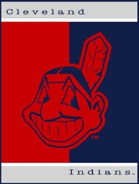 Cleveland Indians All Star Fleece Blanket/Throw