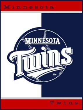 Minnesota Twins All Star Fleece Blanket/Throw