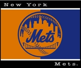 New York Mets All Star Fleece Blanket/Throw