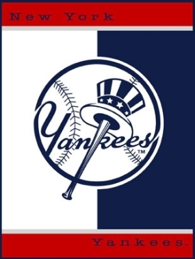 New York Yankees All Star Fleece Blanket/Throw