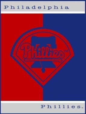 Philadelphia Phillies All Star Fleece Blanket/Throw