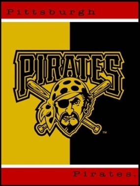 Pittsburgh Pirates All Star Fleece Blanket/Throw
