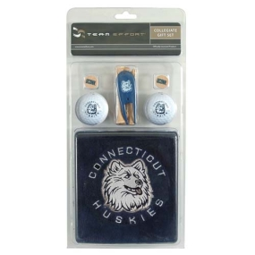 Connecticut Huskies Golf Gift Set