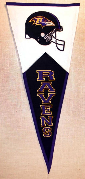 Baltimore Ravens Classic Pennant