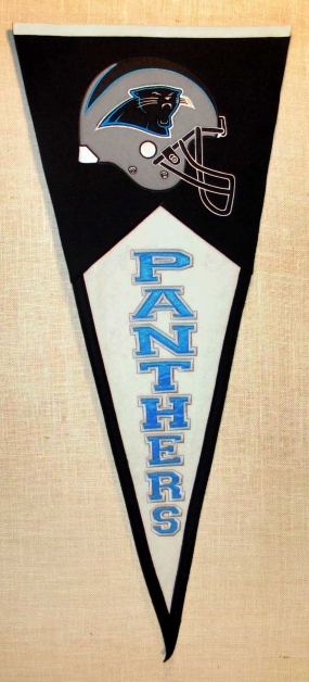 Carolina Panthers Classic Pennant