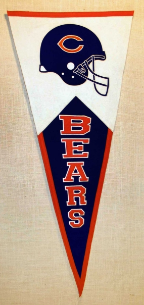 Chicago Bears Classic Pennant