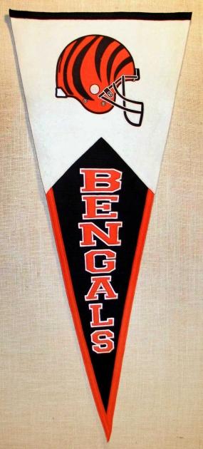 Cincinnati Bengals Classic Pennant