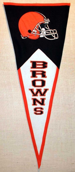 Cleveland Browns Classic Pennant