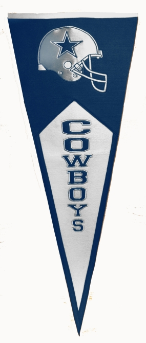 Dallas Cowboys Classic Pennant